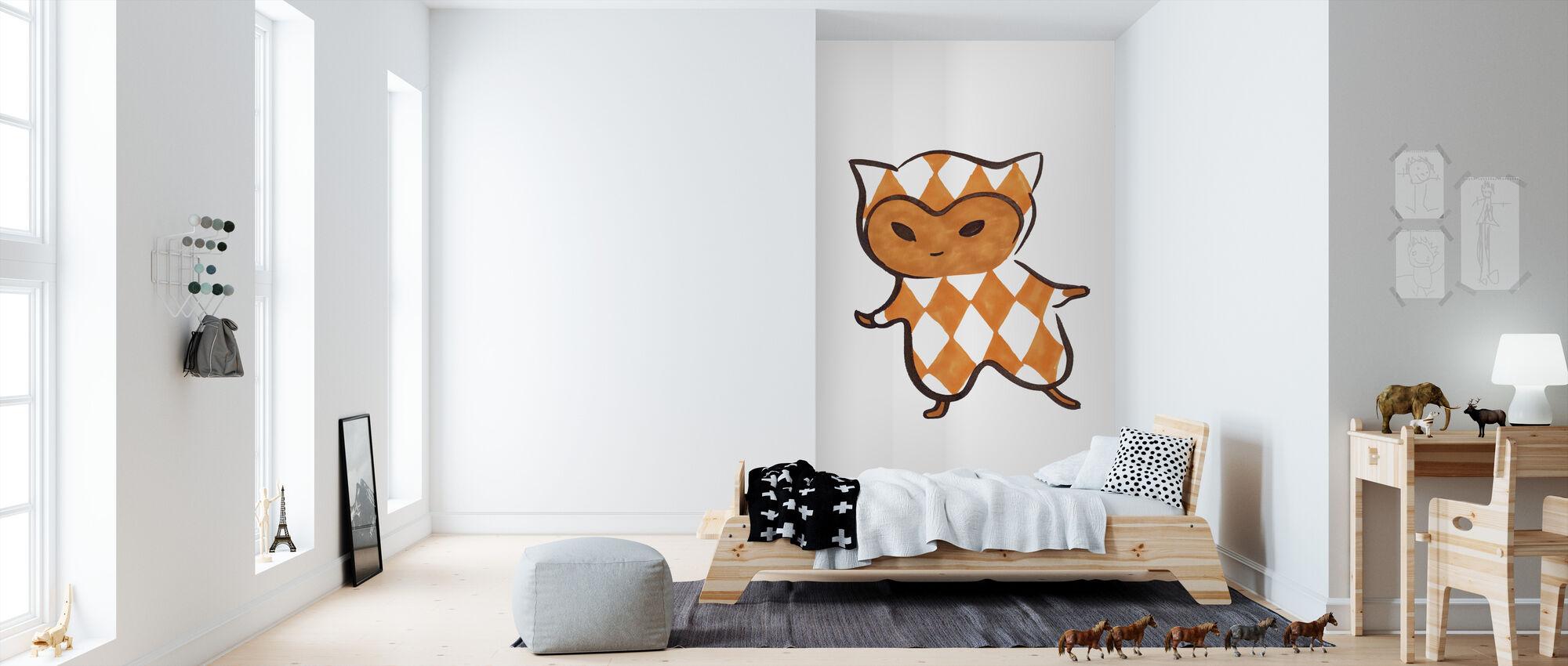 Square - Ruta - Wallpaper - Kids Room