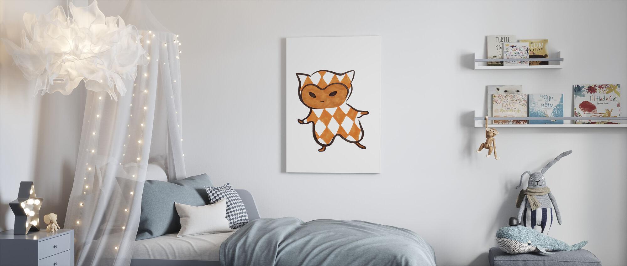 Vierkant - Ruta - Canvas print - Kinderkamer