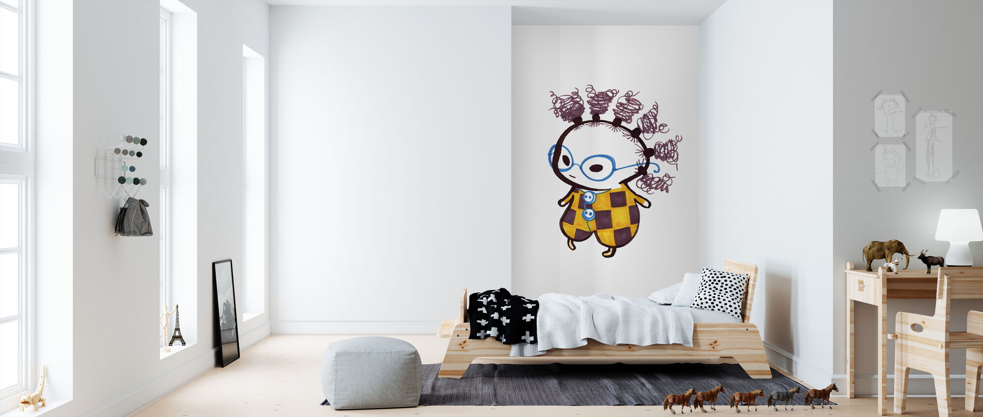 Ulla-Maja - Wallpaper - Kids Room