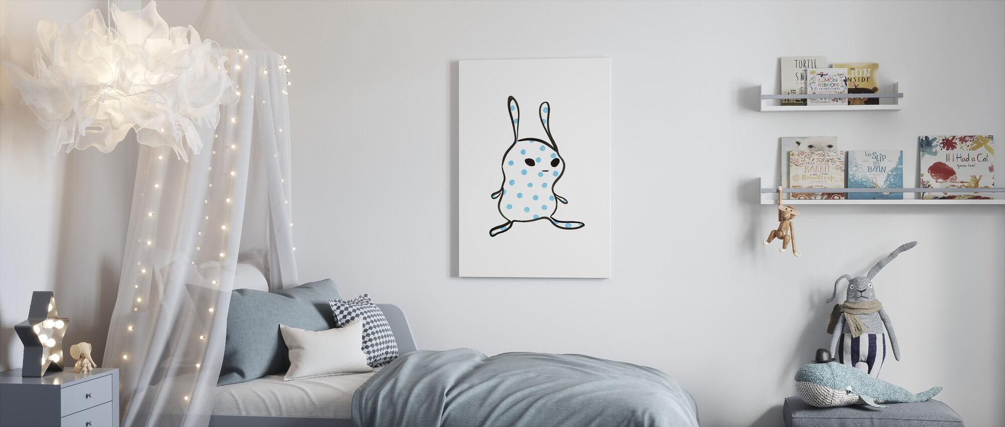 Bump - Canvas print - Kids Room