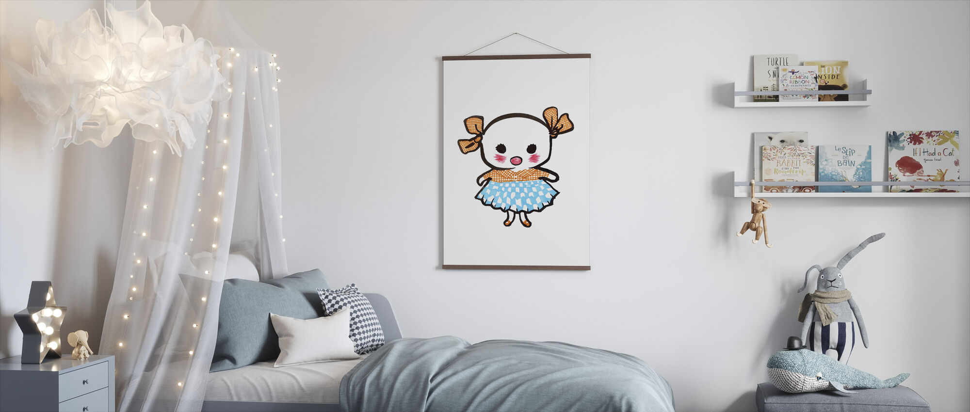 Lill-Stina - Poster - Kids Room