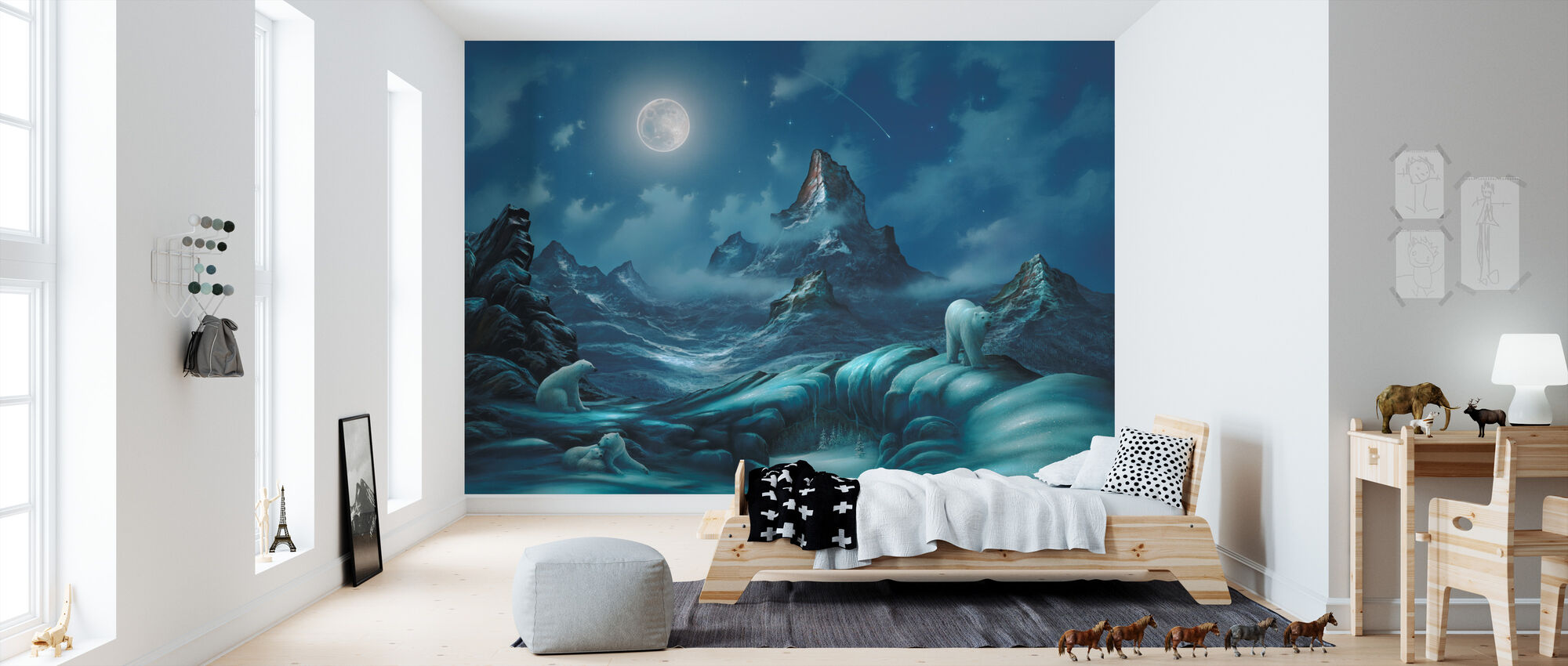 Lords of the Arctic - Wallpaper - Kids Room