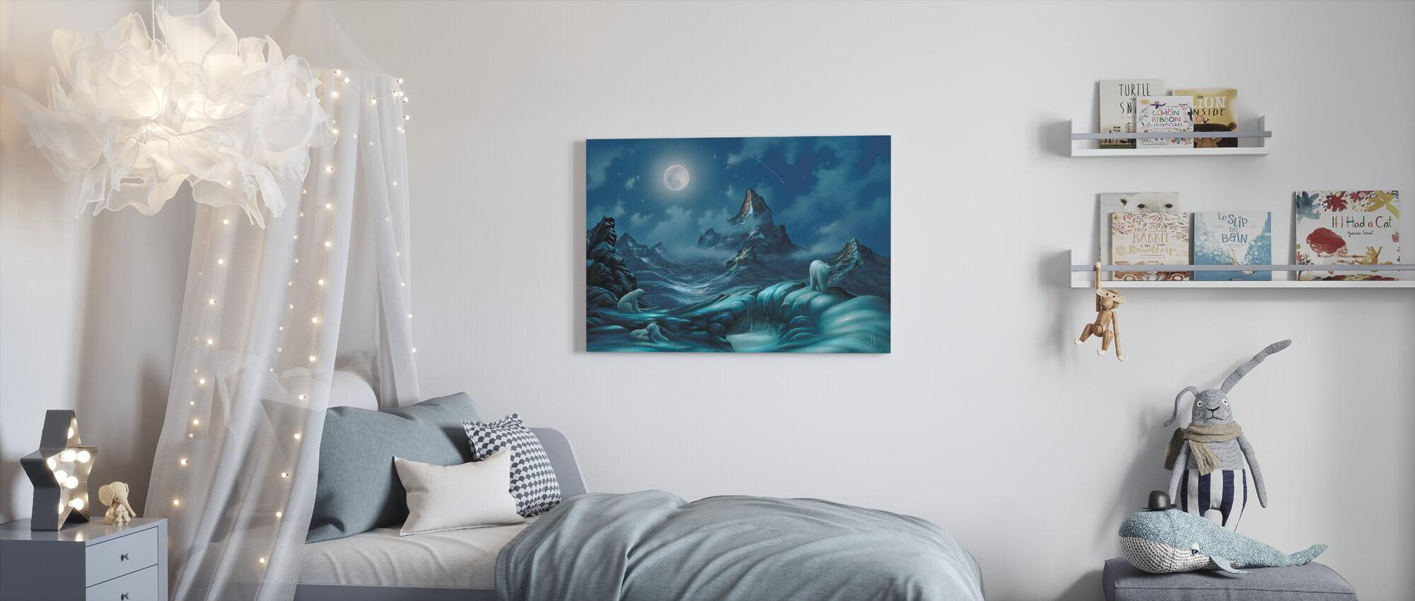 Heren van het Noordpoolgebied - Canvas print - Kinderkamer