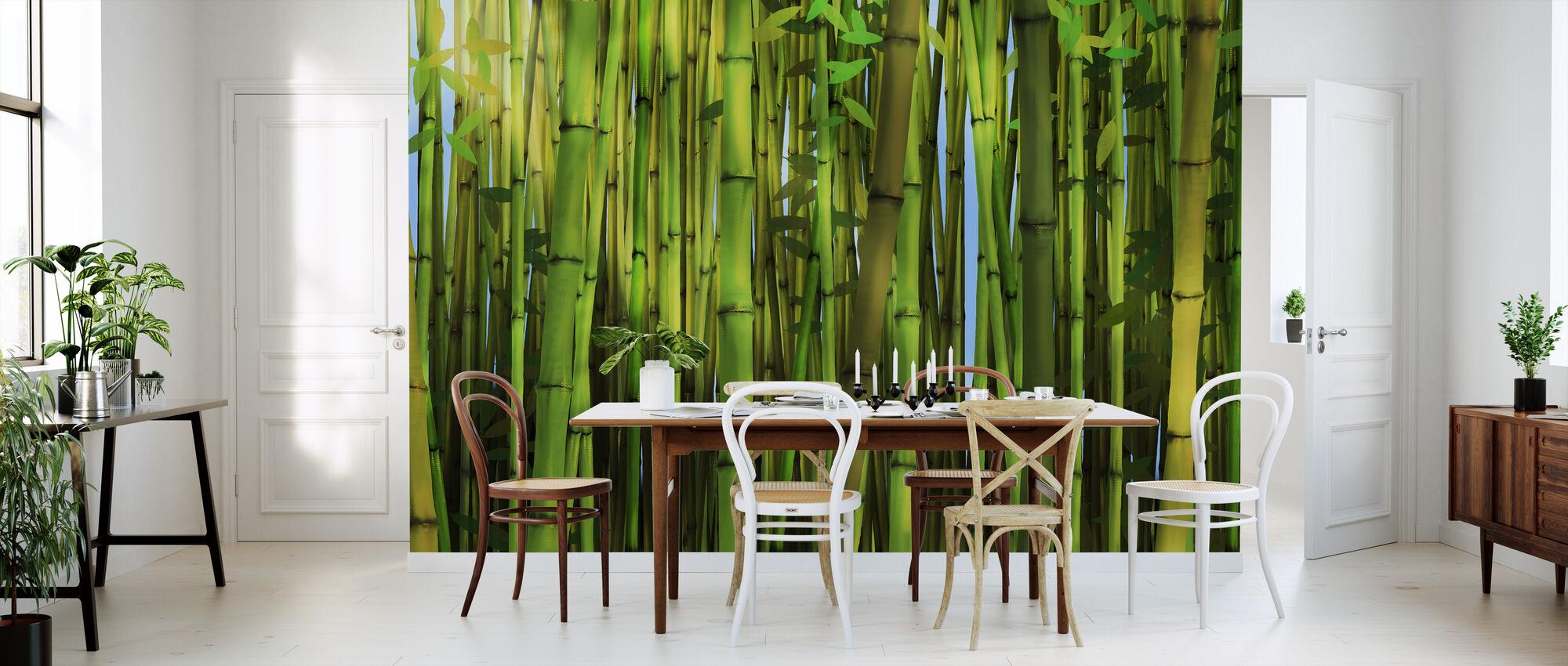 Bamboe Bos - Behang - Keuken