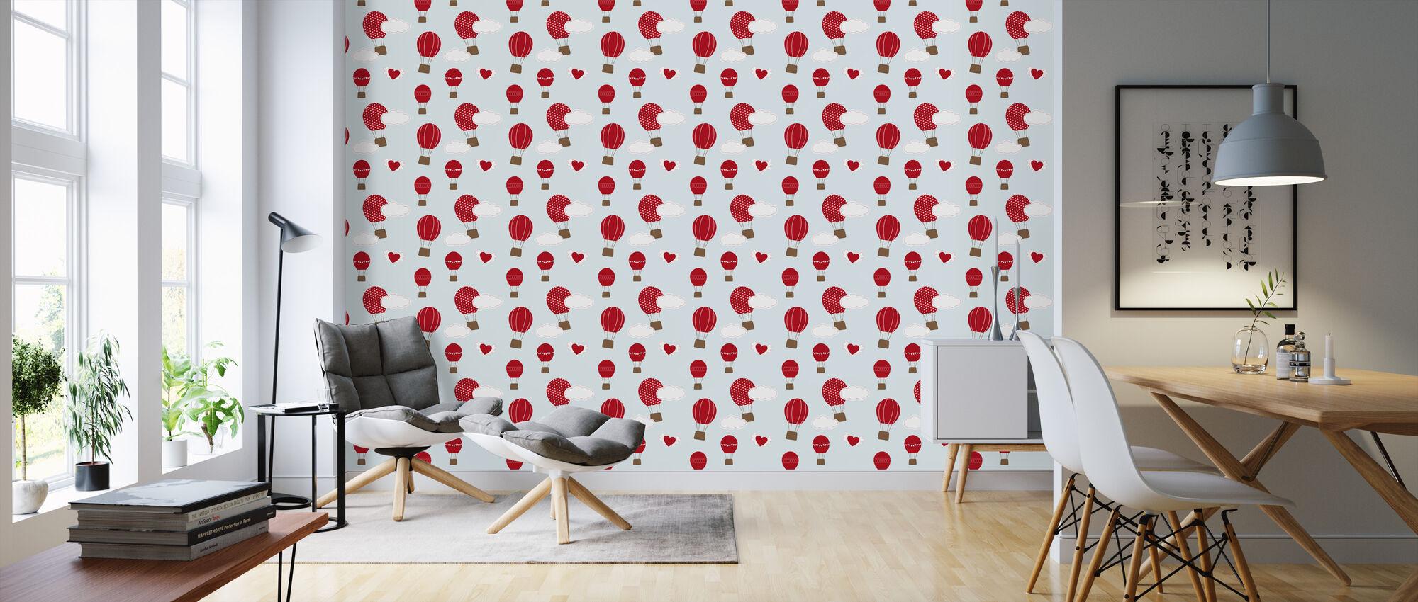 perfect day blue eine tapete f r jeden raum und jedes ambiente photowall. Black Bedroom Furniture Sets. Home Design Ideas
