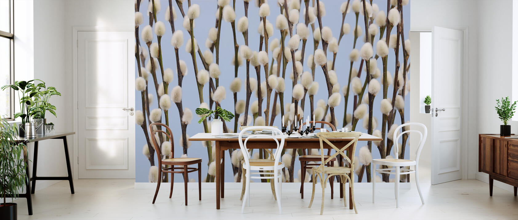 willow buds fototapete nach ma photowall. Black Bedroom Furniture Sets. Home Design Ideas