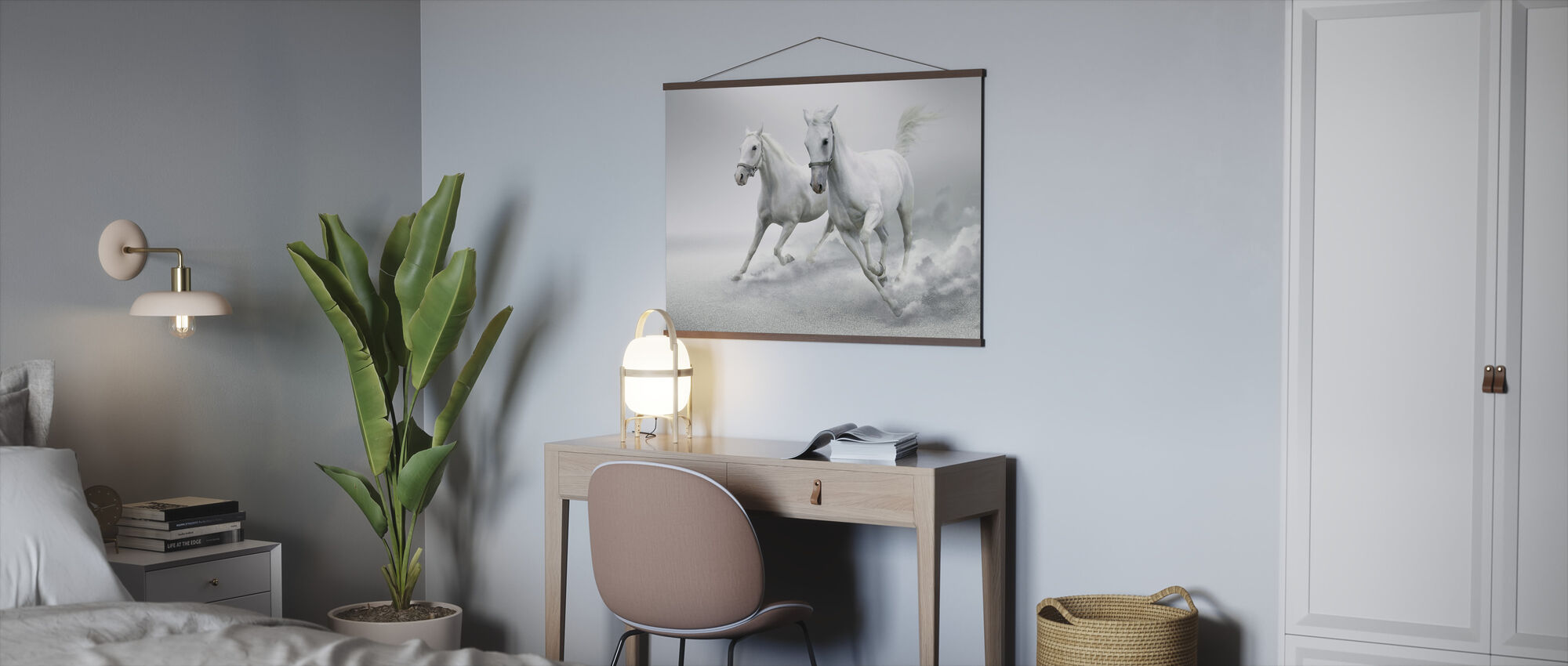 White Horses - Poster - Office