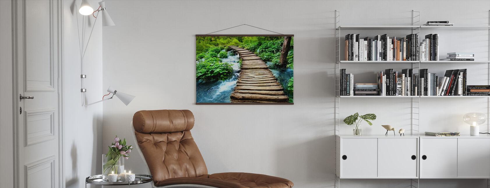 Boardwalk - Poster - Living Room