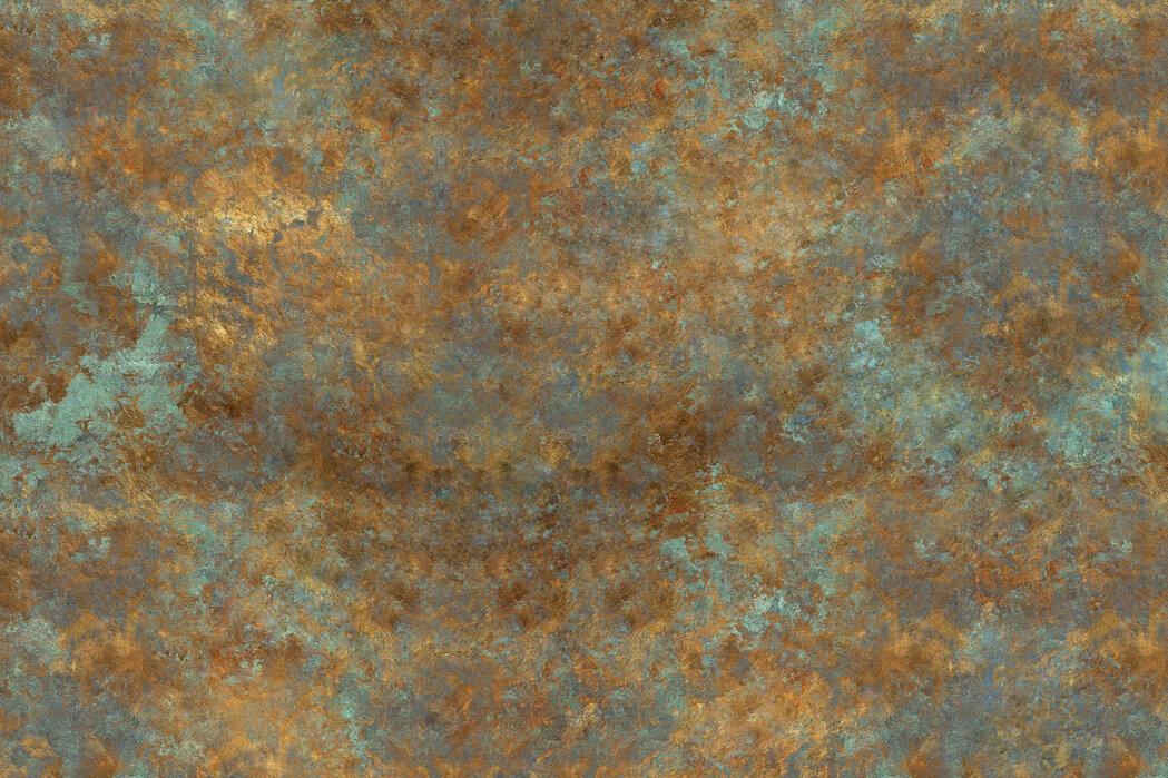 Papiertapete Metall Boxen Rost Wandtapete Mustertapete Tapeten Modern Design Rot