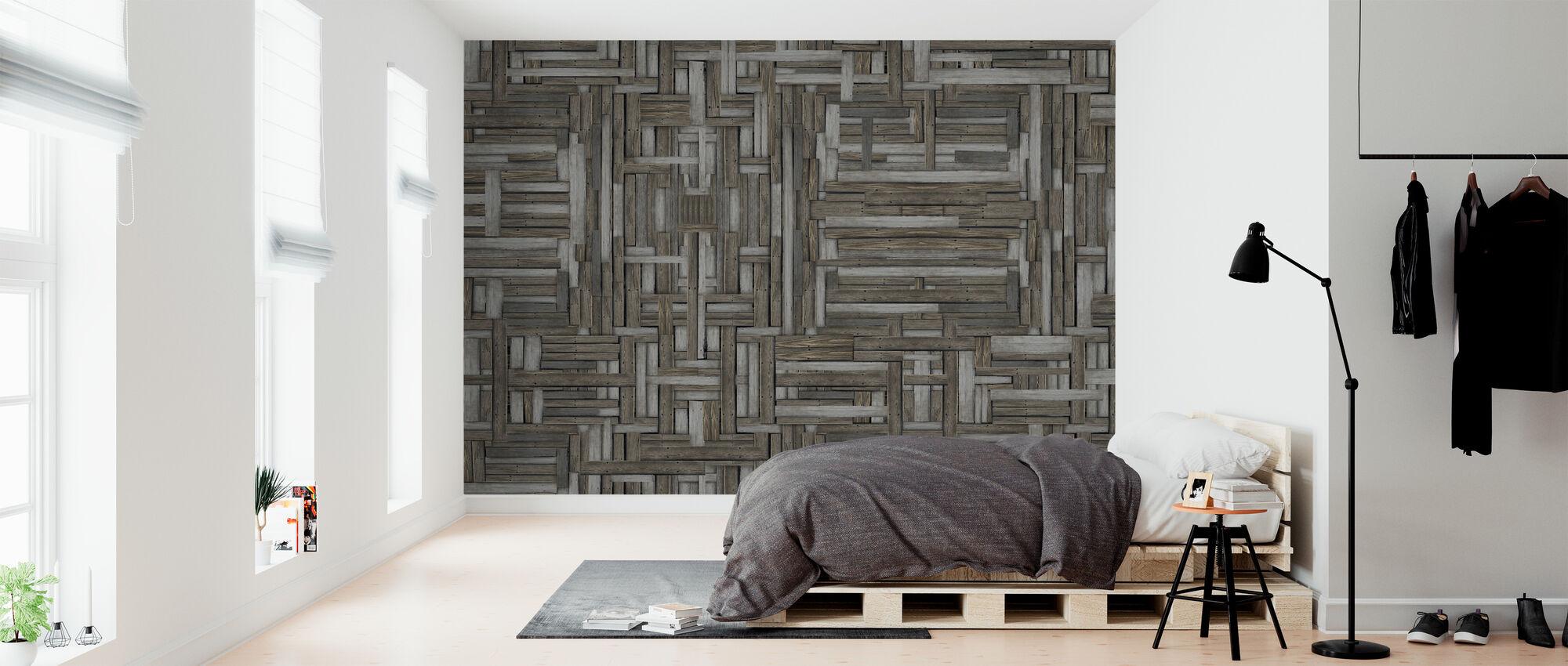 Gamle Træ Mønstre - Tapet - Soveværelse