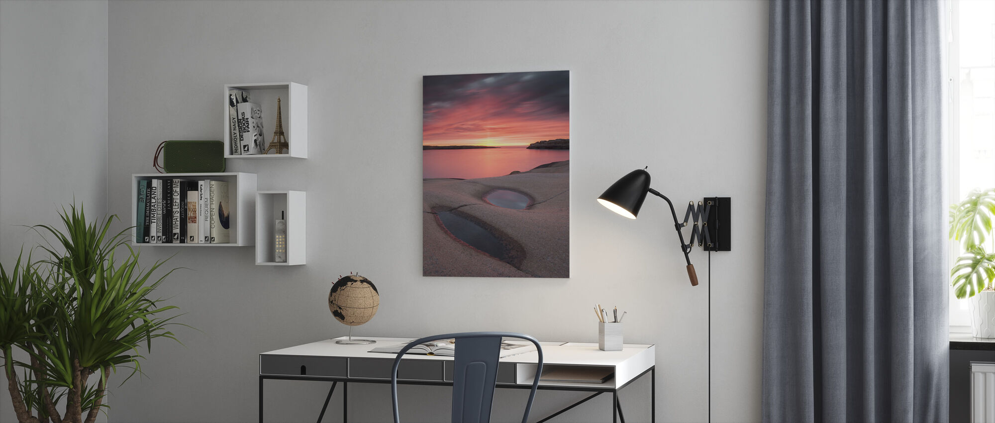 Fantastic Sky - Canvas print - Office