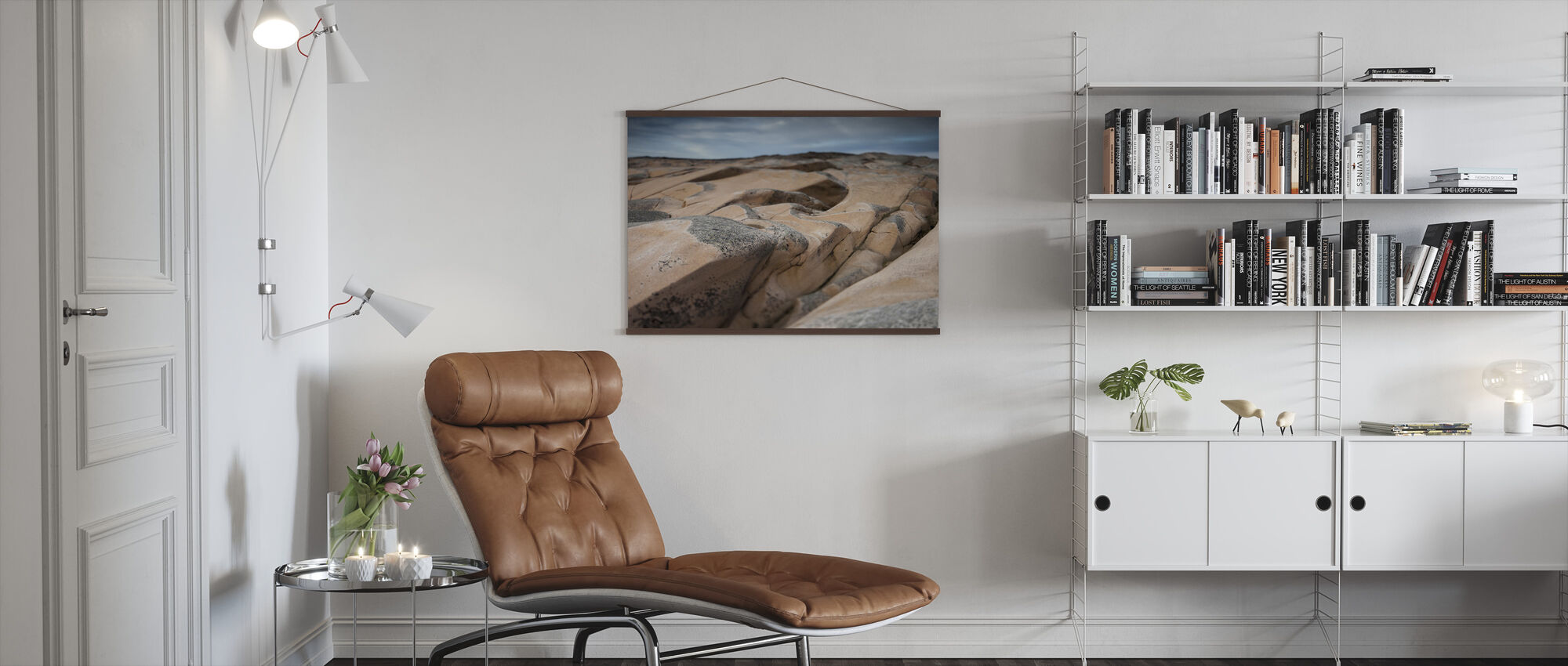 Beautiful Forms - Poster - Living Room