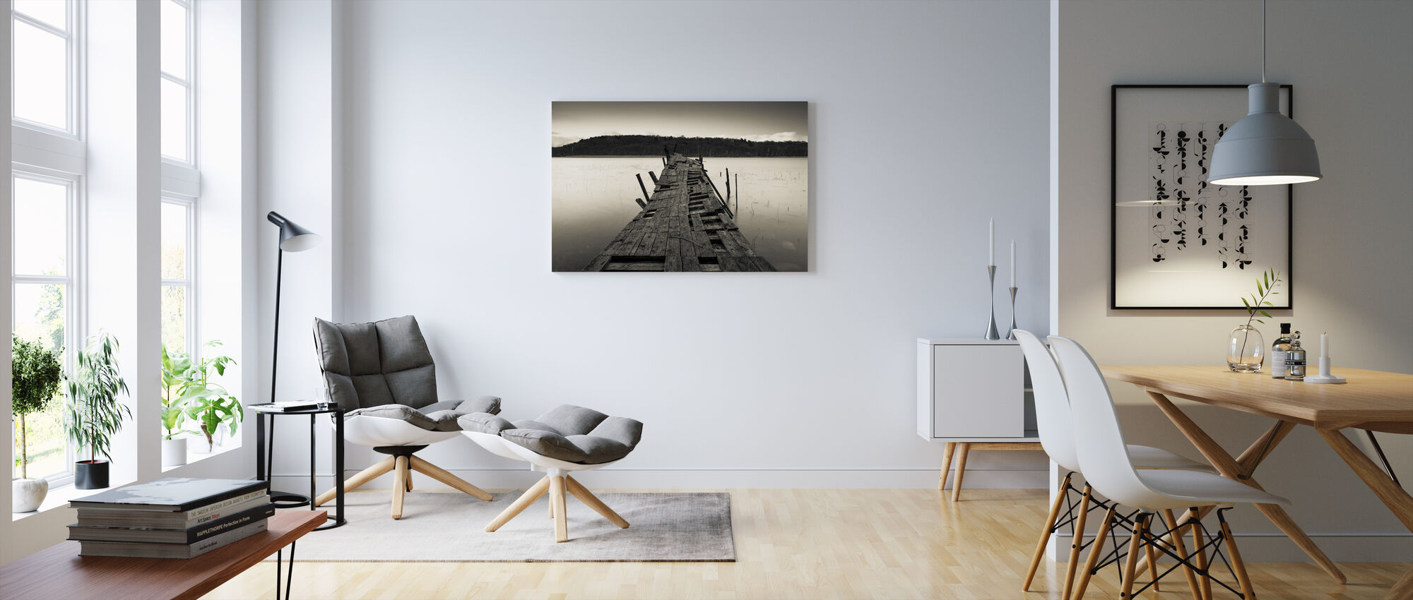 In Need of Maintenance - Canvas print - Living Room