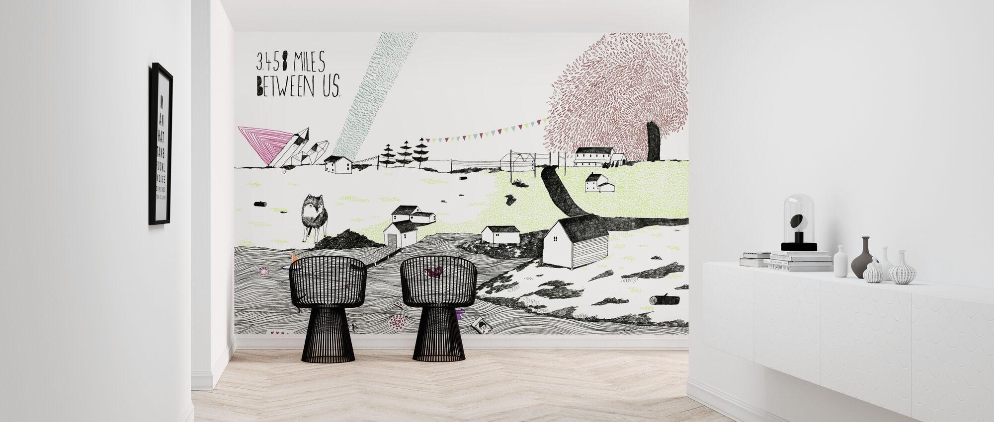 Miles Between Us - Wallpaper - Hallway
