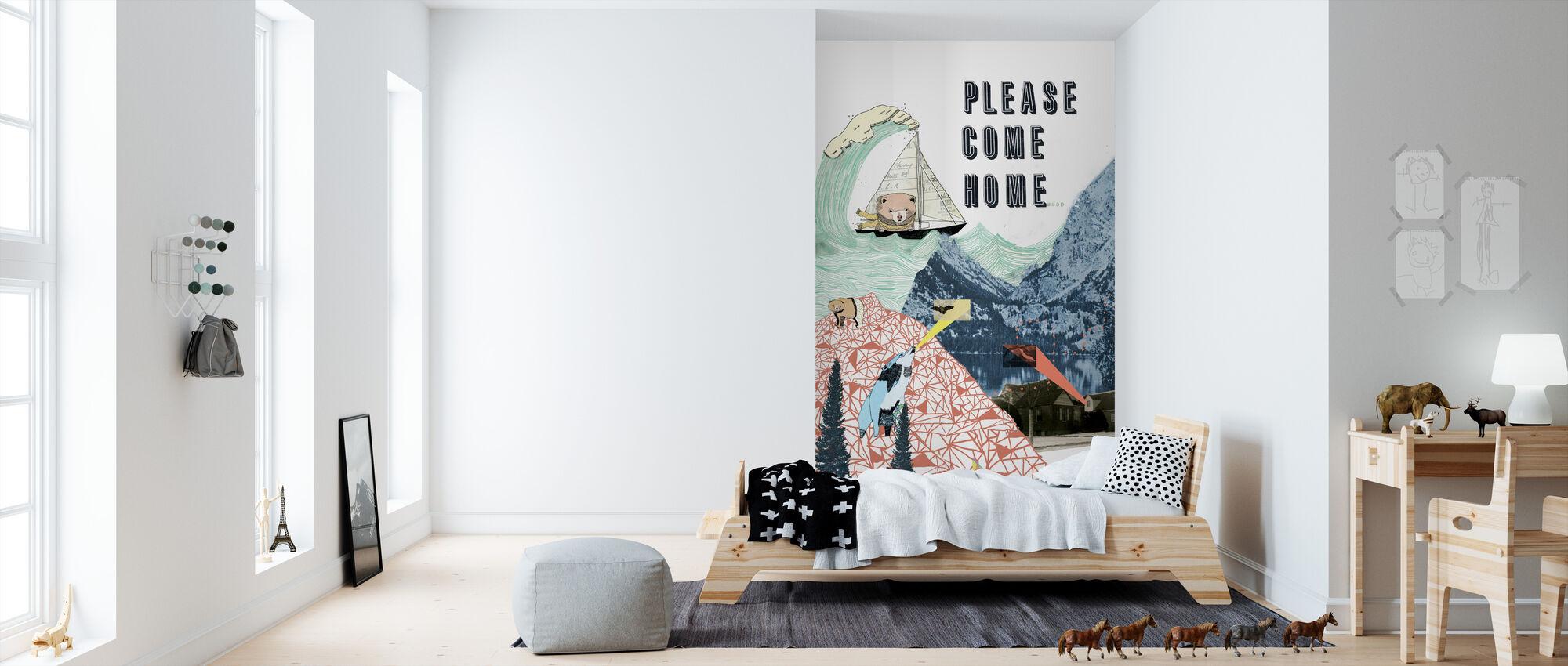 Please Come Home - Wallpaper - Kids Room