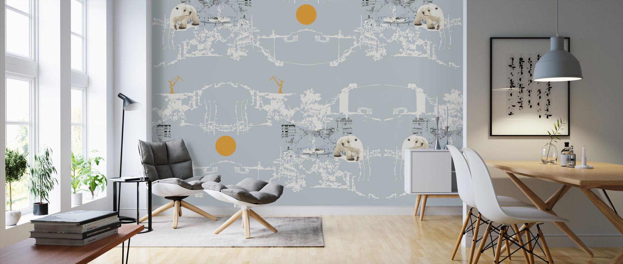 Polar Bear - Wallpaper - Living Room