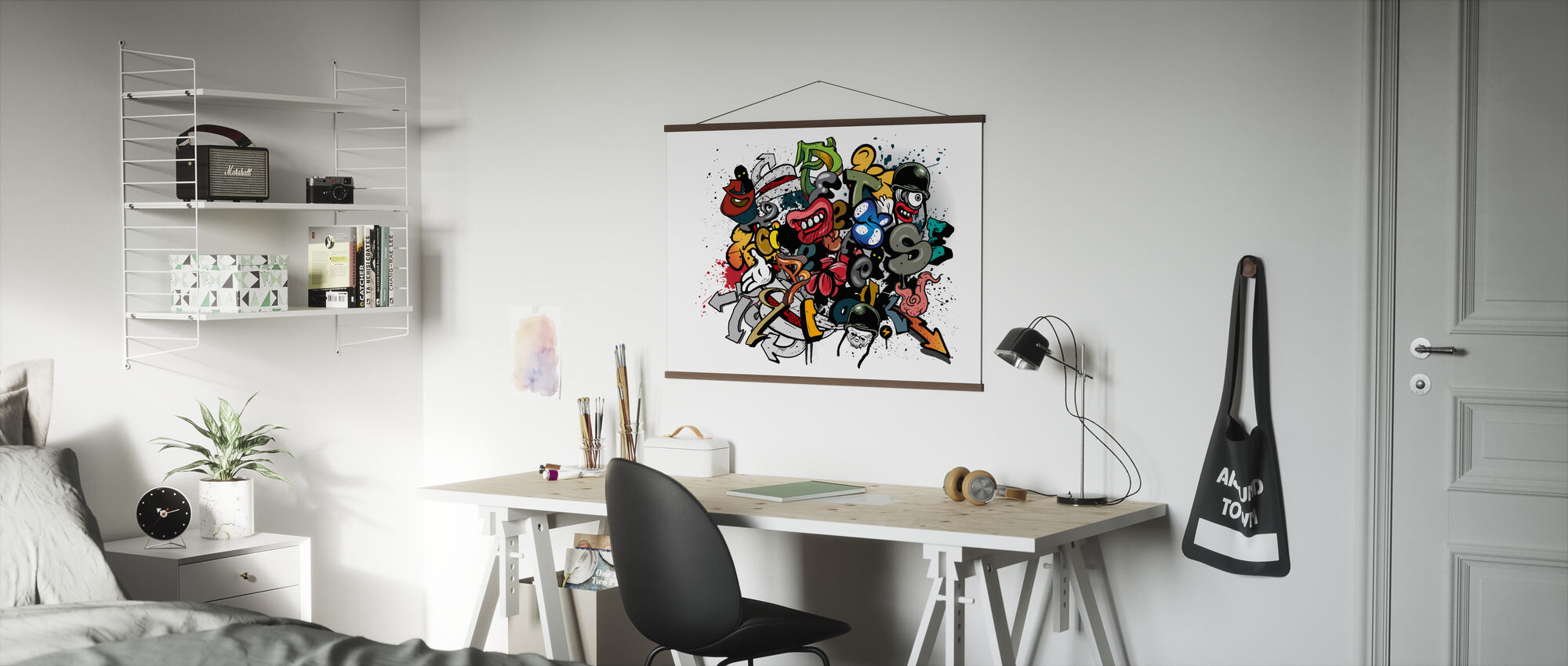 Graffiti element - Poster - Kontor