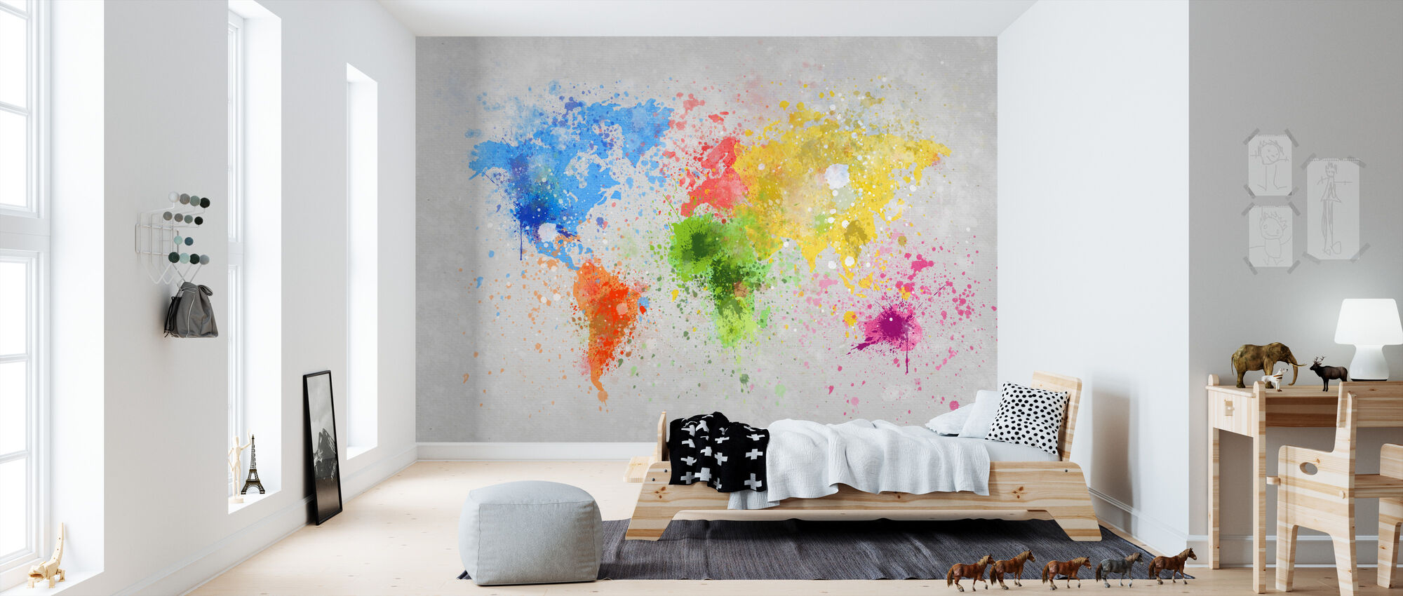 Colorful World - Wallpaper - Kids Room