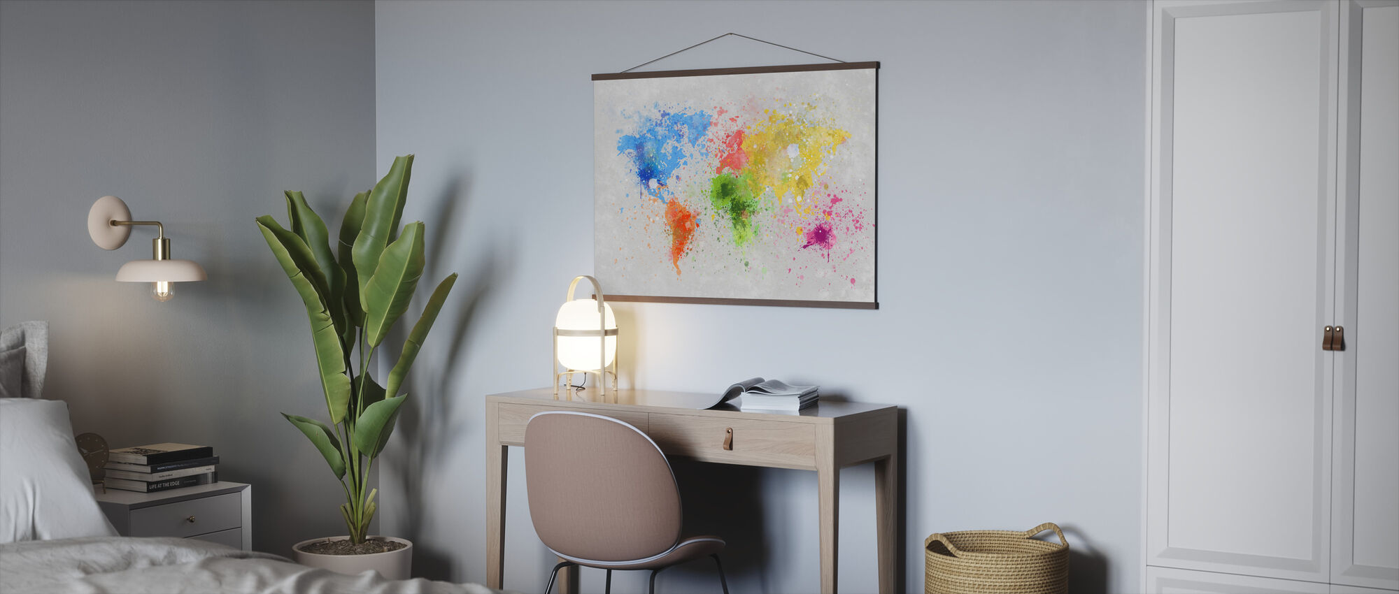 Colorful World - Poster - Office