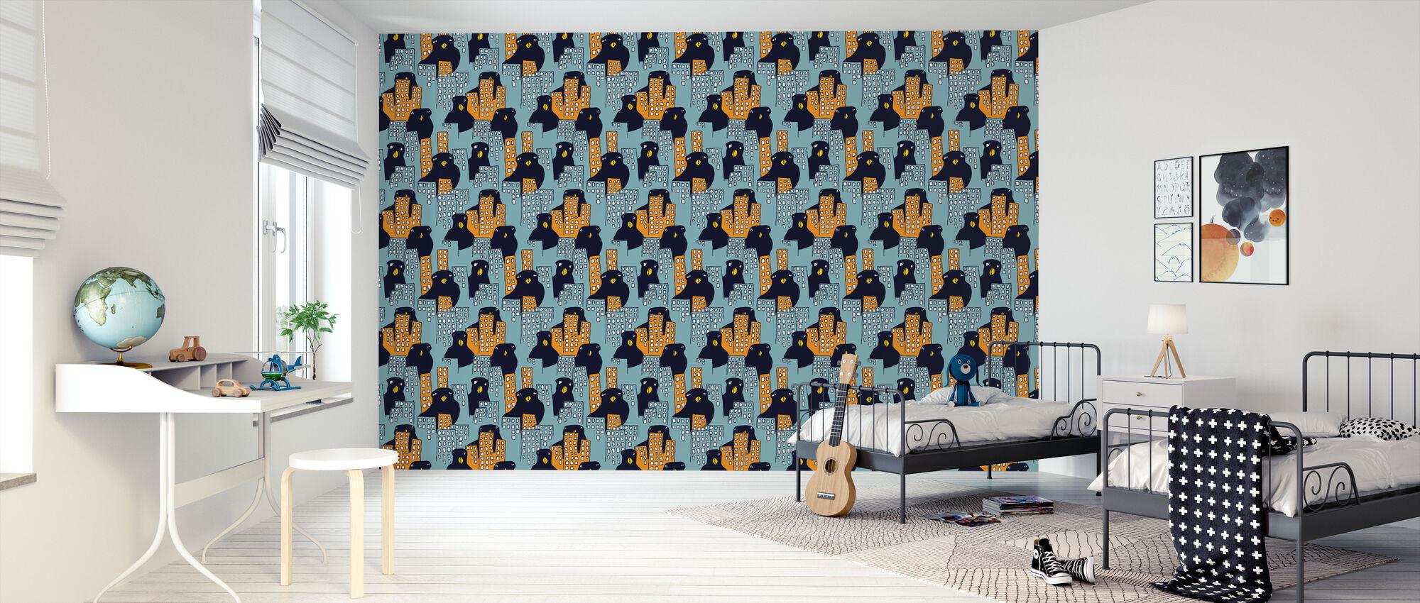 Åjabaduva Gröndal - Wallpaper - Kids Room