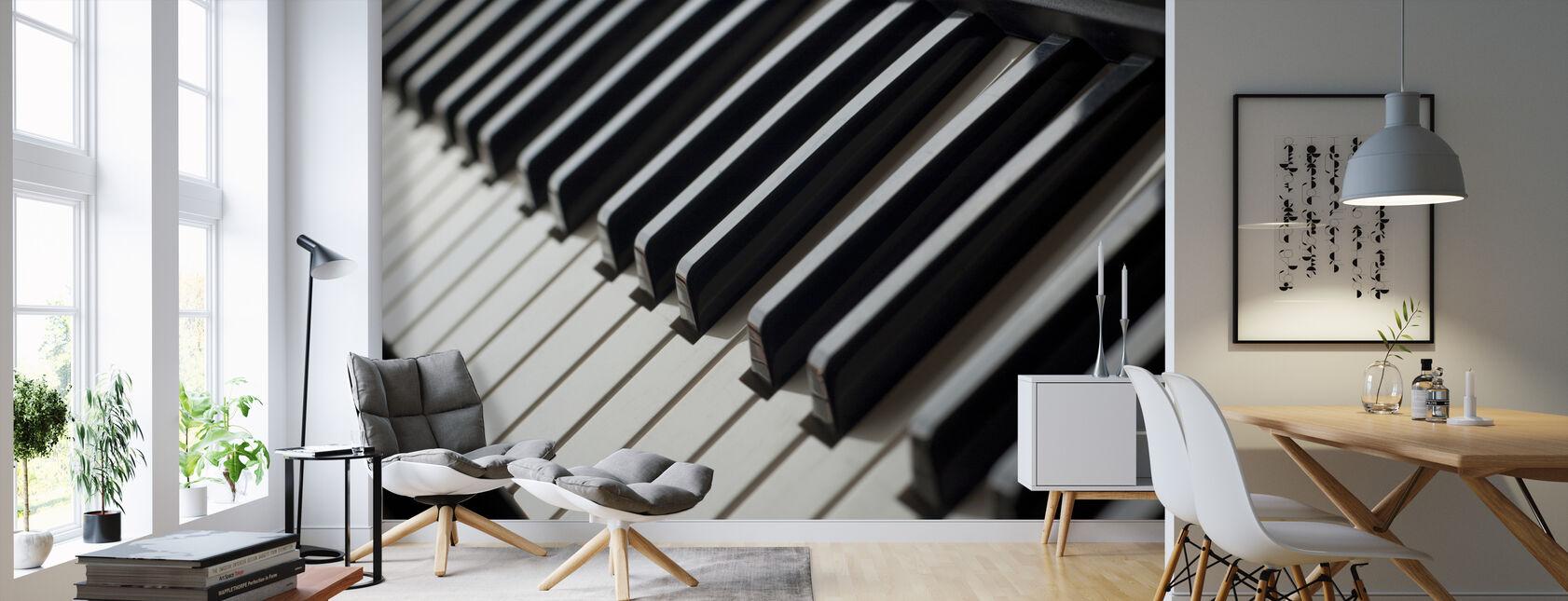 Piano Tangentbord - Tapet - Vardagsrum