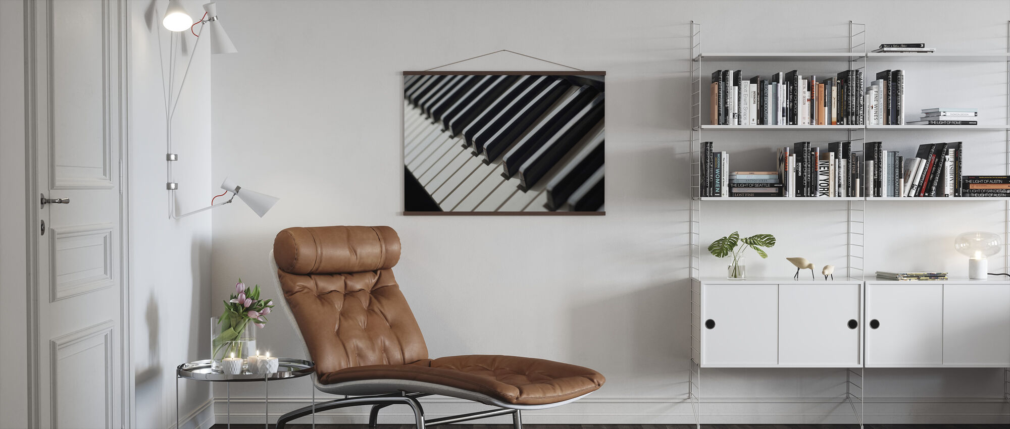 Piano Keyboard - Poster - Living Room