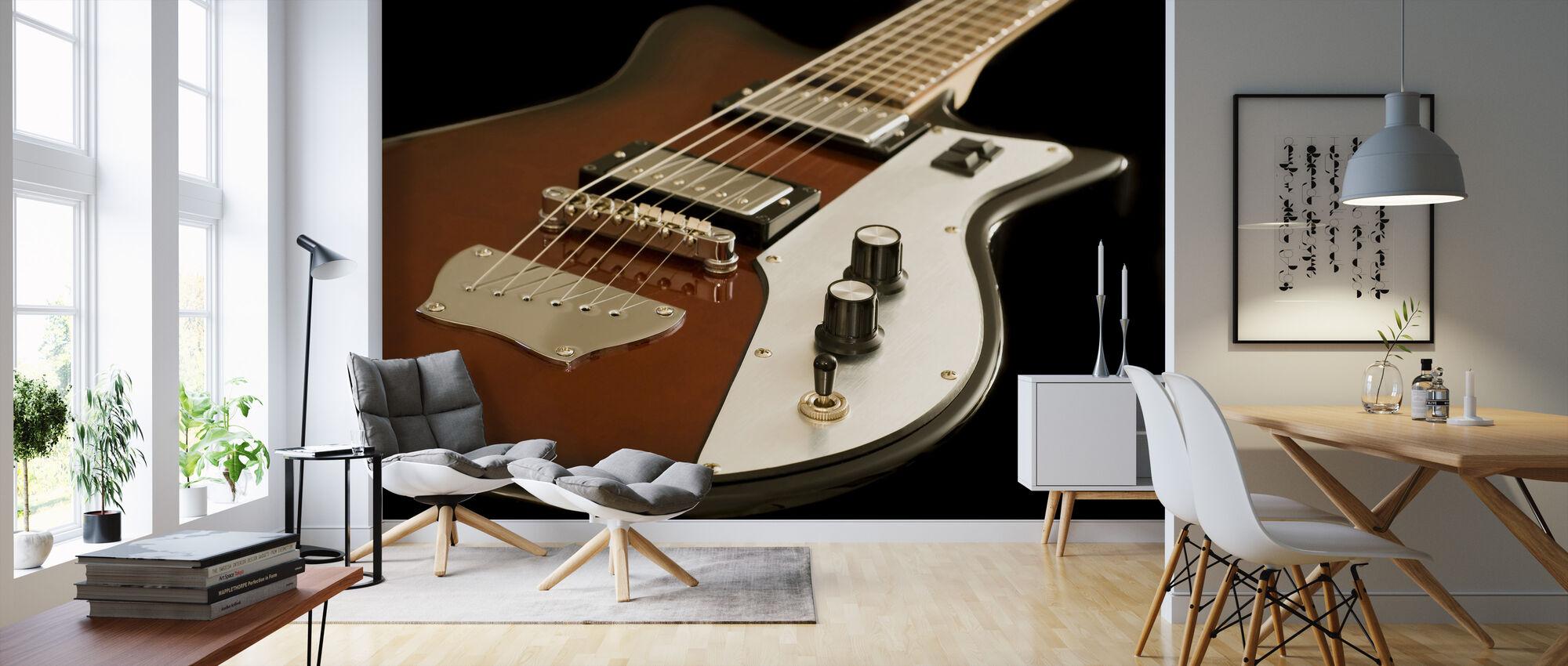Electric Guitar - Wallpaper - Living Room