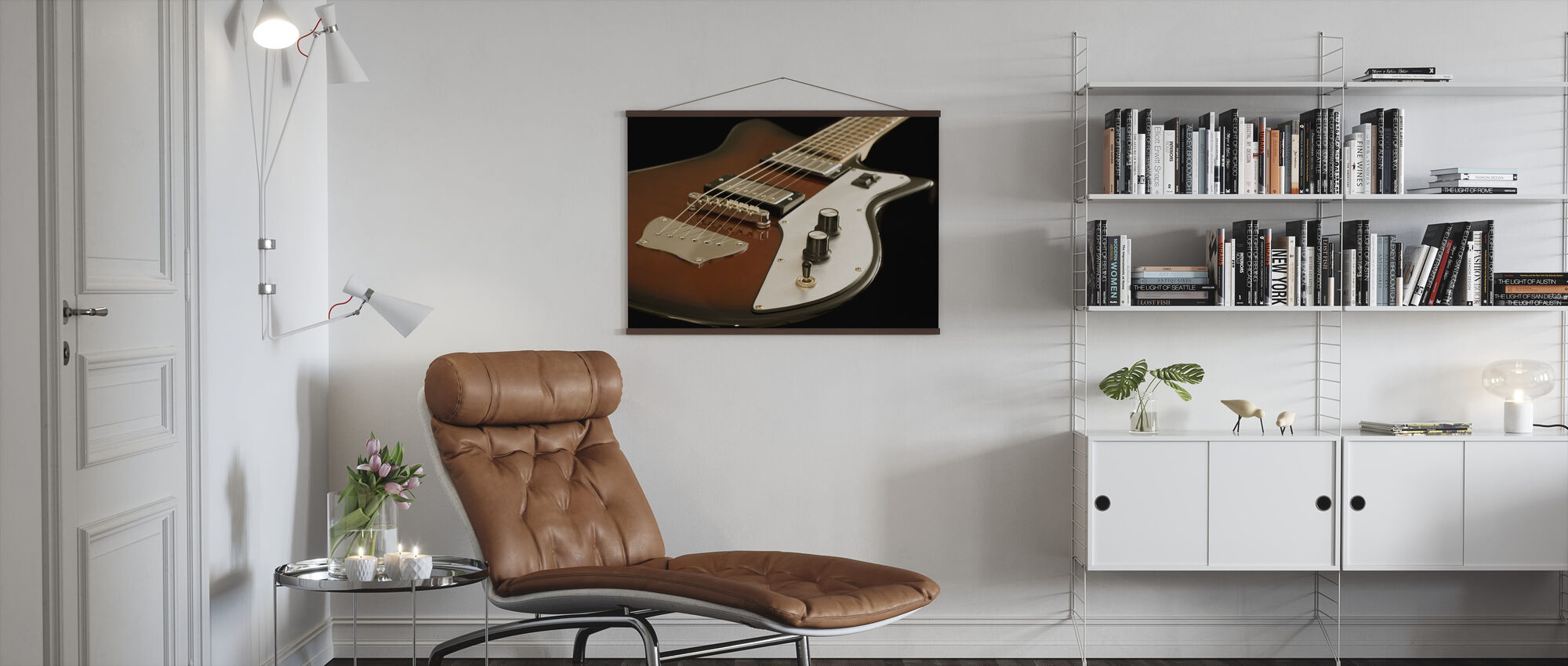 Electric Guitar - Poster - Living Room
