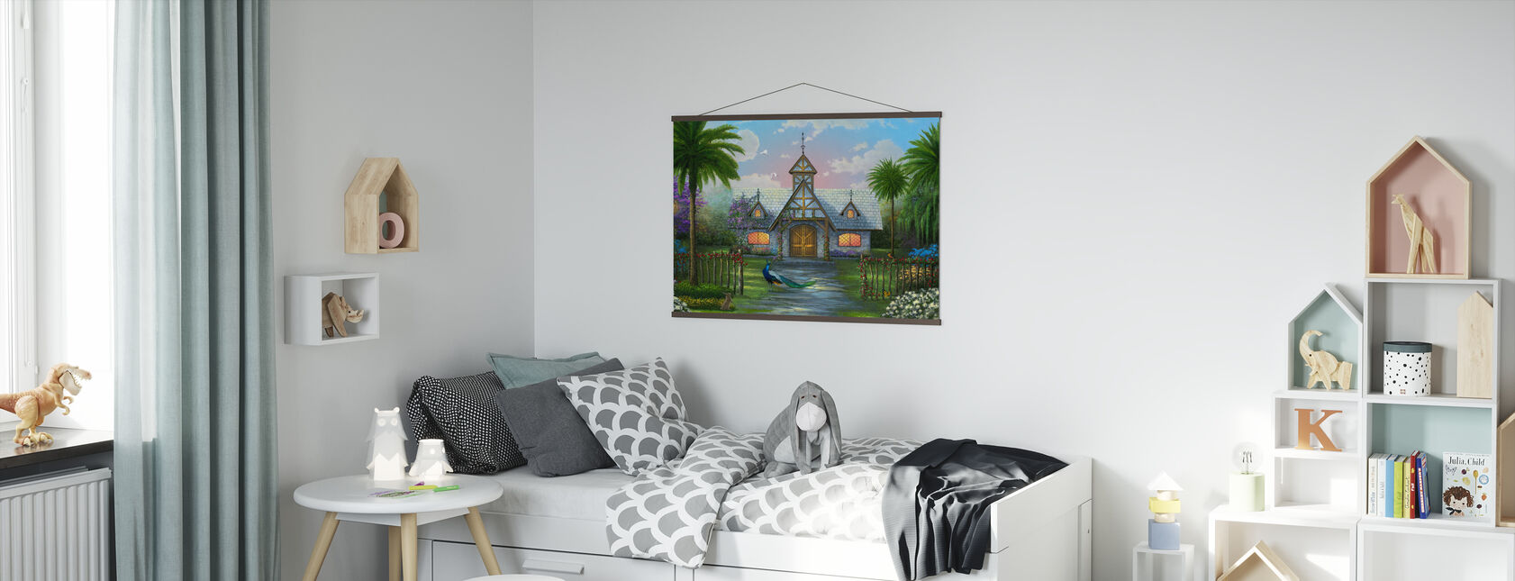 Paradise Cottage - Poster - Kids Room