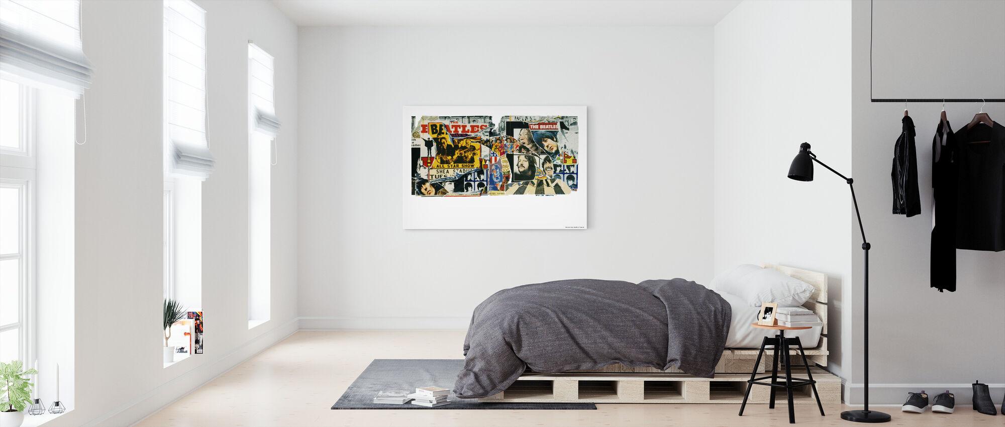 Beatles - Affiches Vintage - Impression sur toile - Chambre
