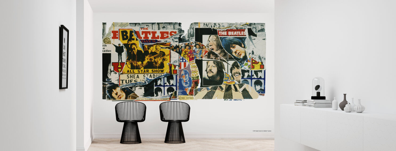 Beatles - Vintage Posters - Behang - Gang