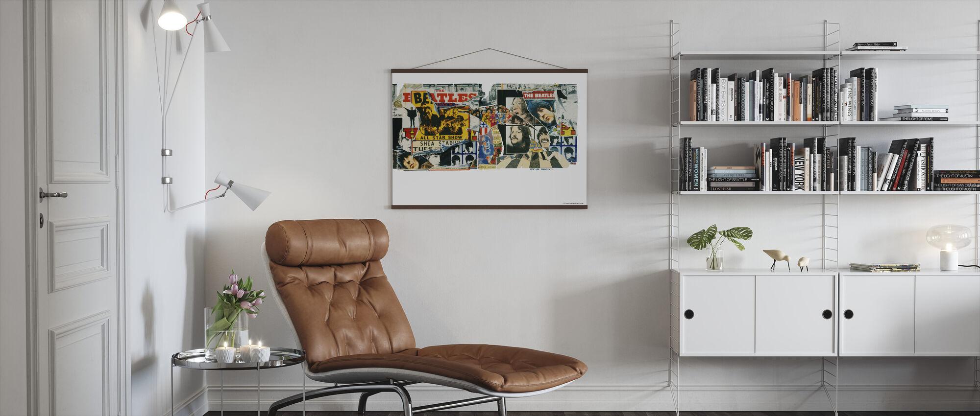 Beatles - Vintage plakater - Plakat - Stue