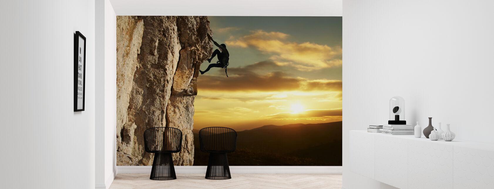 Rock Climber - Wallpaper - Hallway