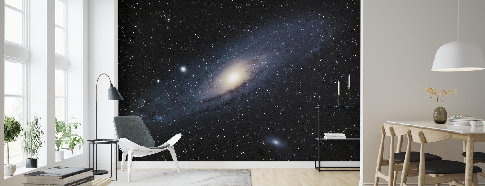 Andromeda-galaxen - Tapet - Vardagsrum