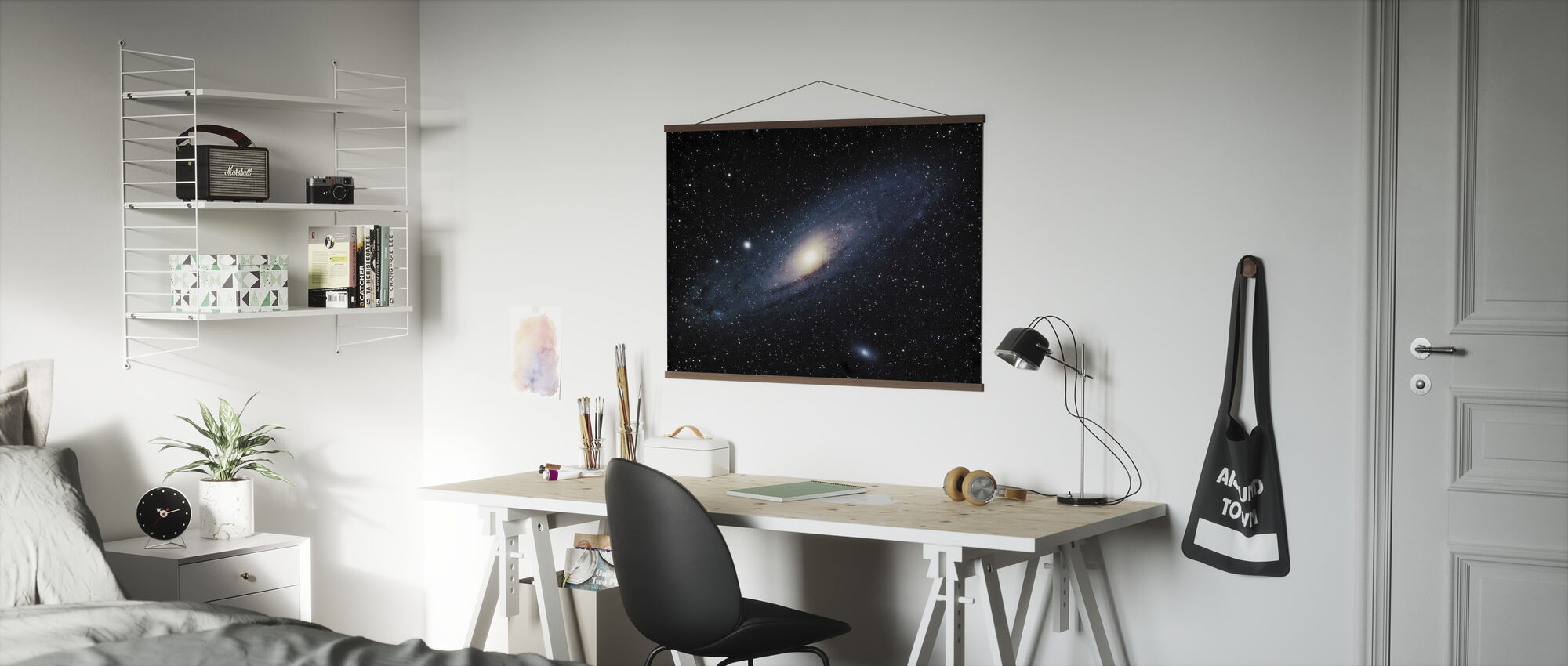 Andromeda Galaxy - Poster - Office
