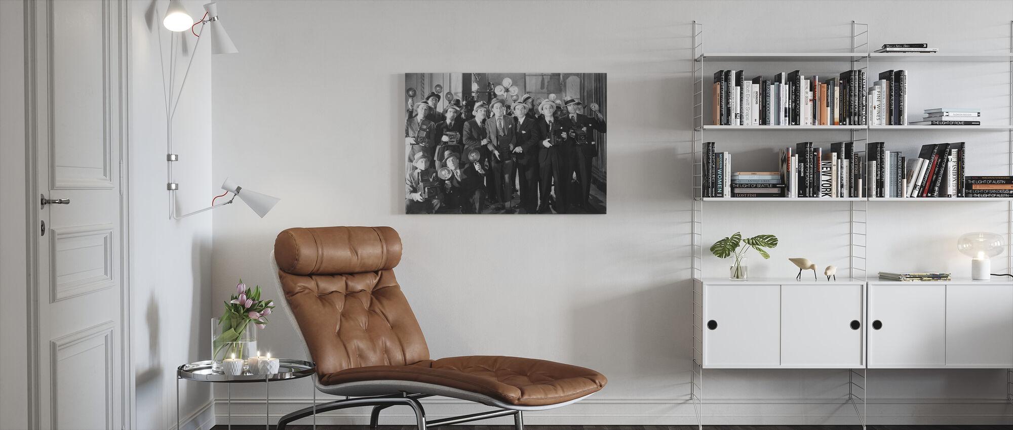 Paparazzi verwarring - Canvas print - Woonkamer