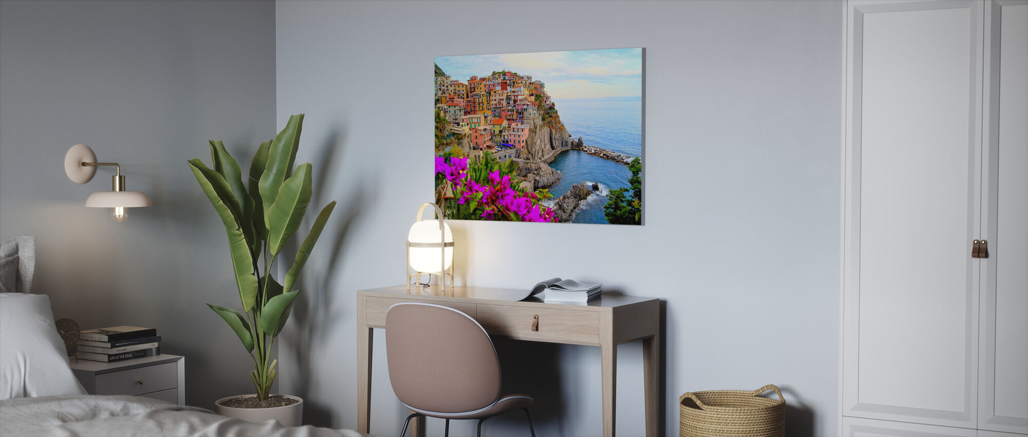 Village of Manarola, Italy - Canvas print - Office