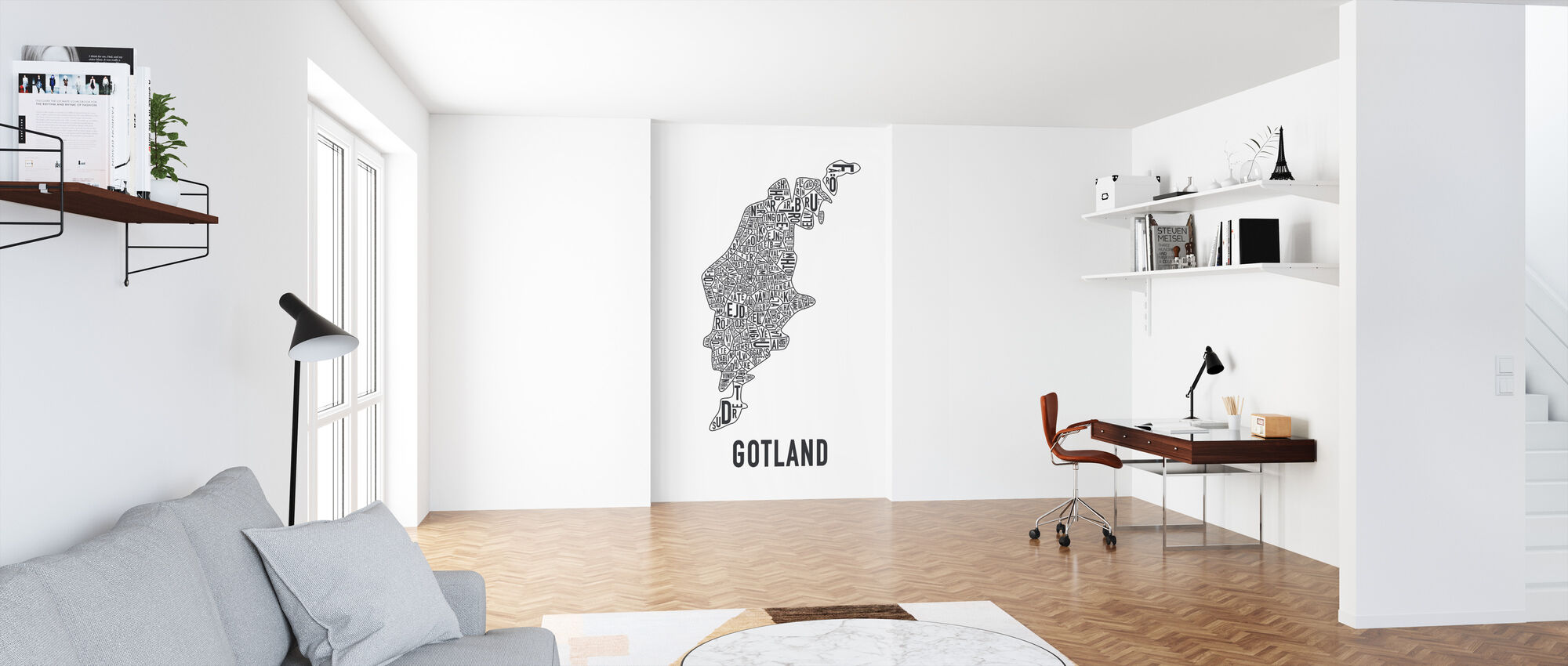 Gotland - Wallpaper - Office