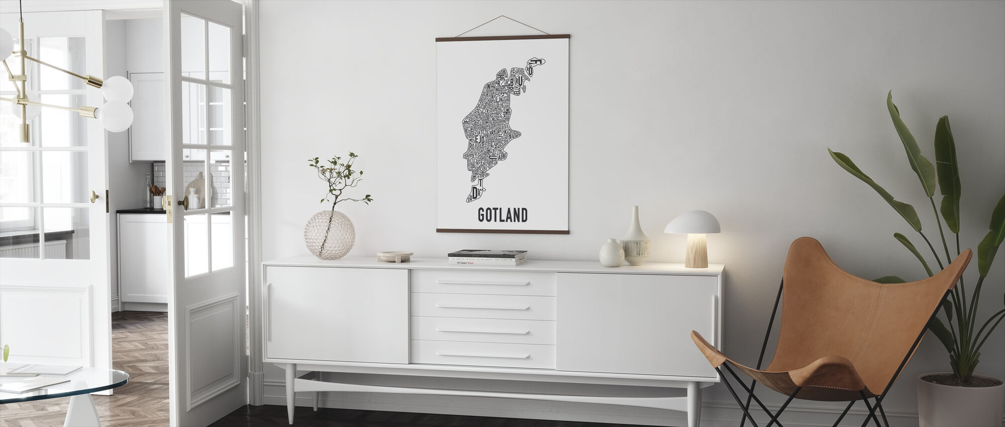 Gotland - Plakat - Stue