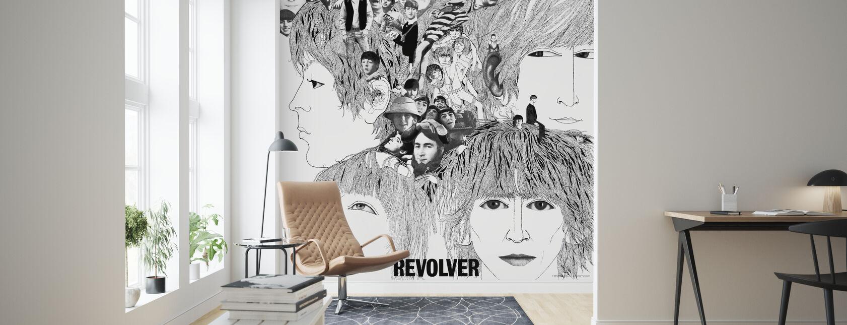 Beatles - Revolver - Wallpaper - Living Room
