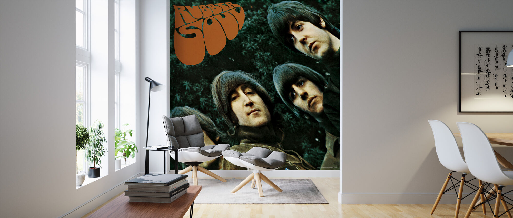Beatles - Rubber Soul - Wallpaper - Living Room