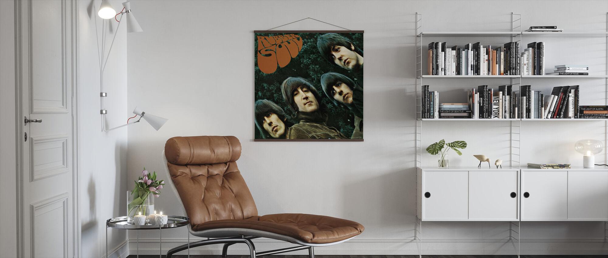Beatles - Gummi sjæl - Plakat - Stue
