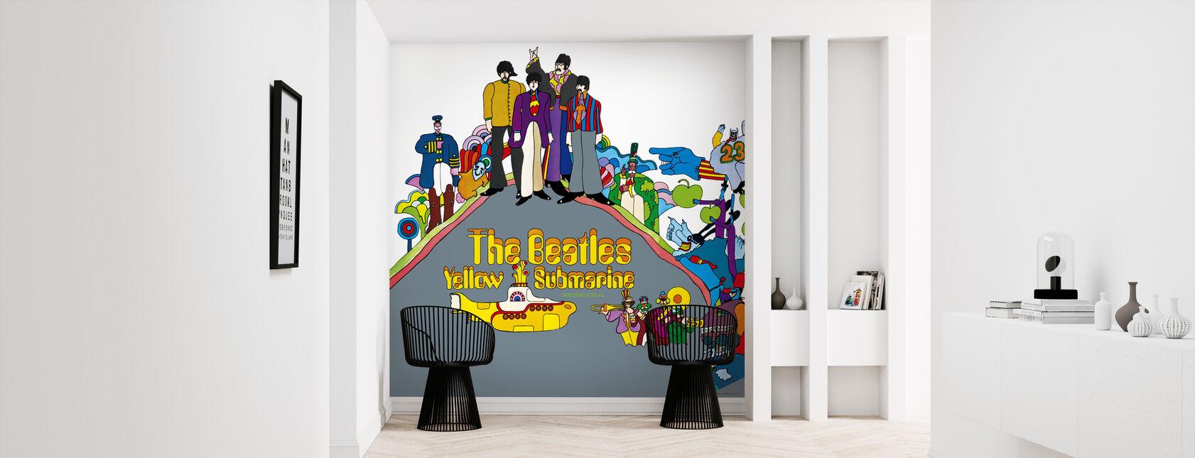 Beatles - Keltainen Sukellusvene - Tapetti - Aula