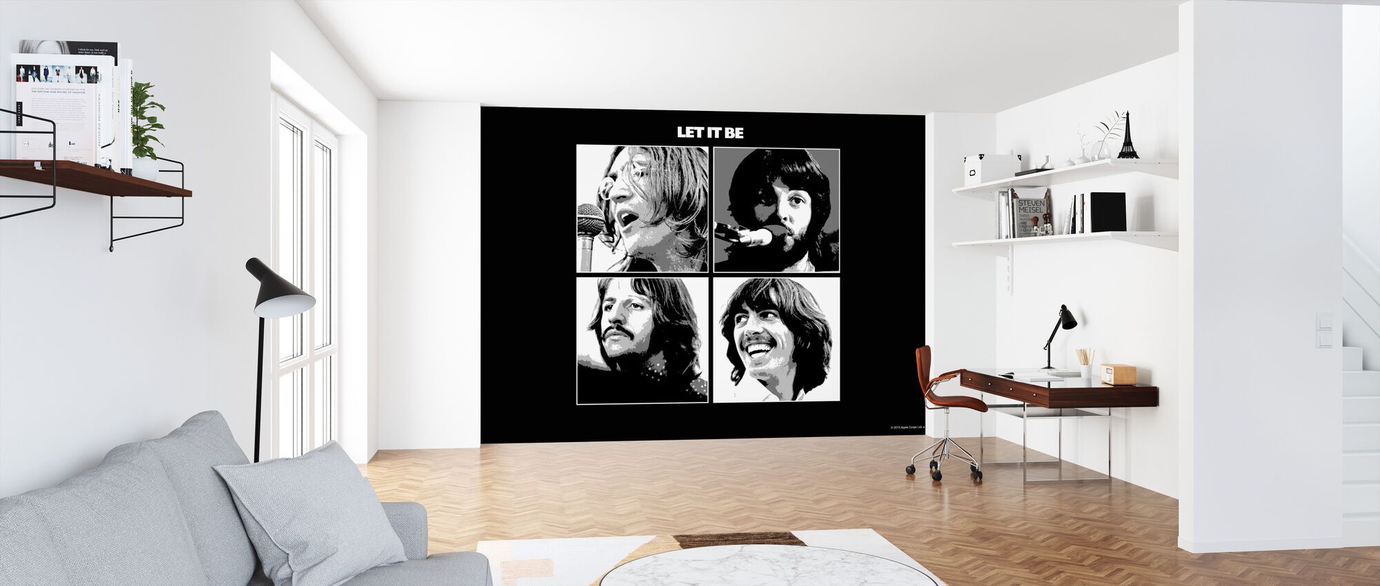 Beatles - Anna sen olla - Tapetti - Toimisto