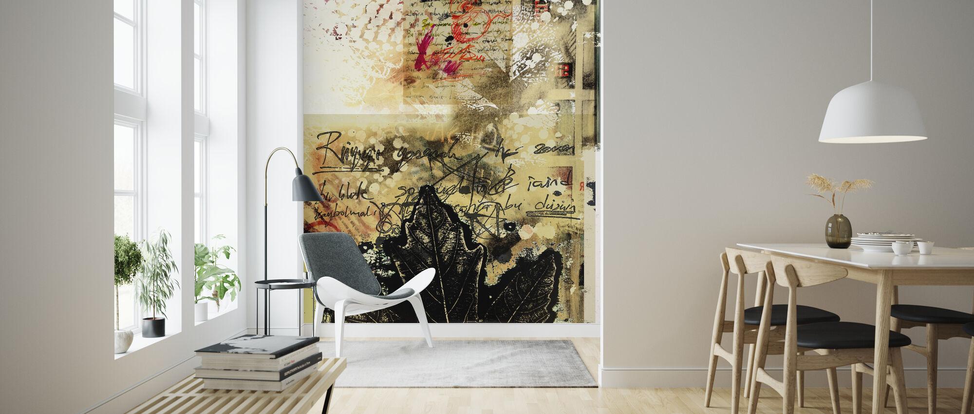 Abstracte Grunge achtergrond - Behang - Woonkamer