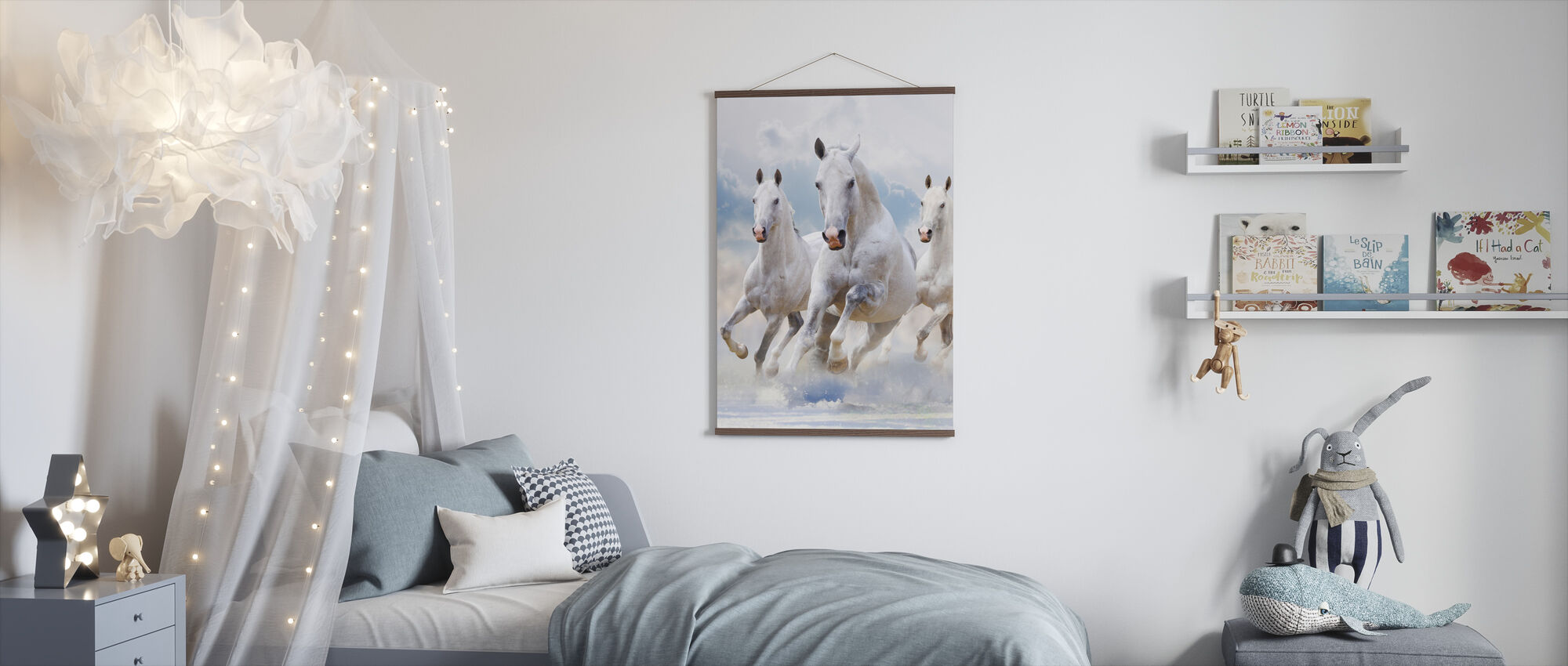 Cavalli Sky - Poster - Camera dei bambini