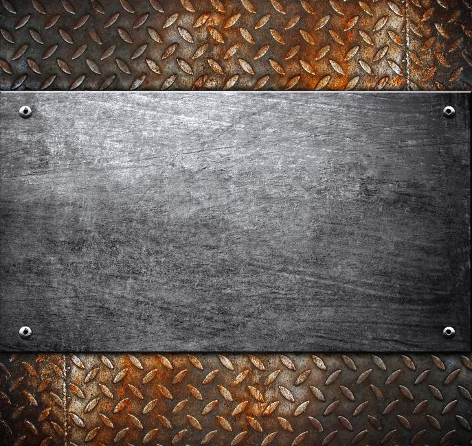 Metal Pattern Fototapeter & Tapeter 100 x 100 cm