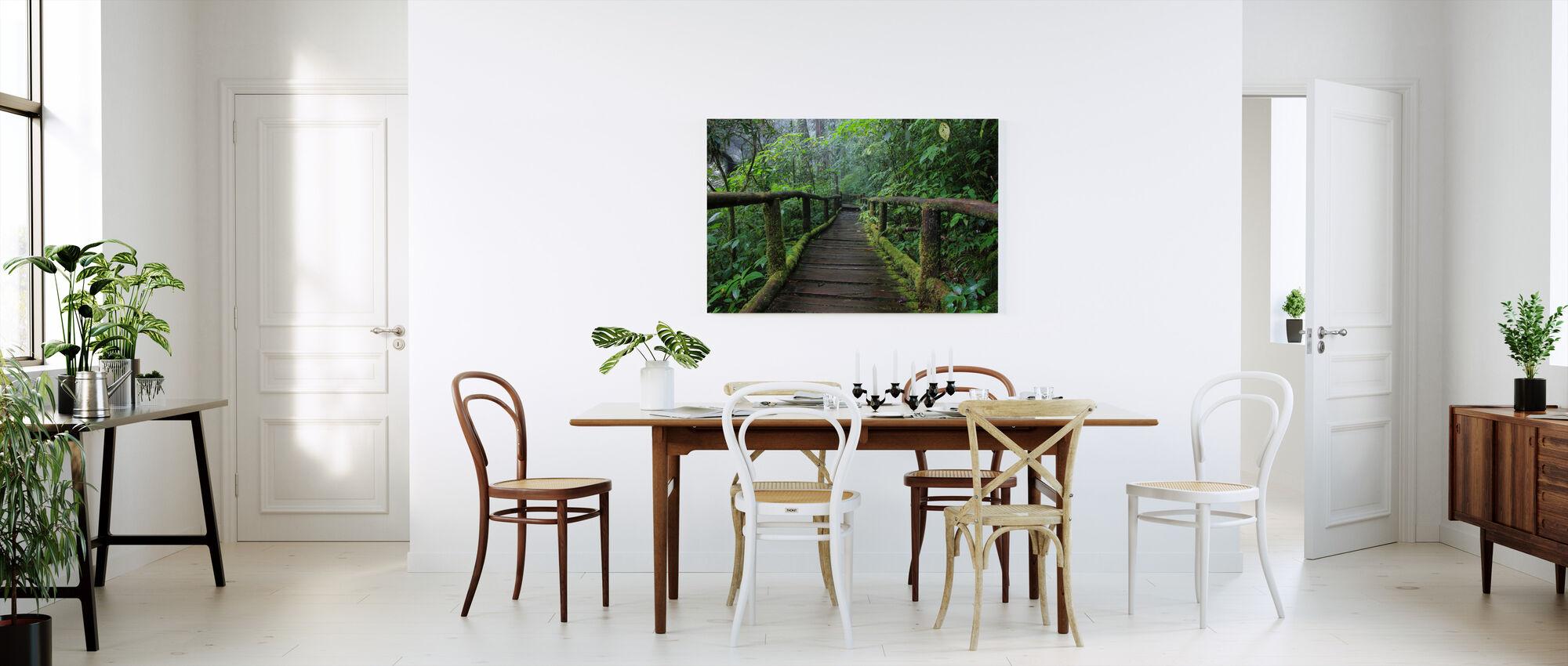 Beautiful Bridge in Thailand - Canvas print - Kitchen