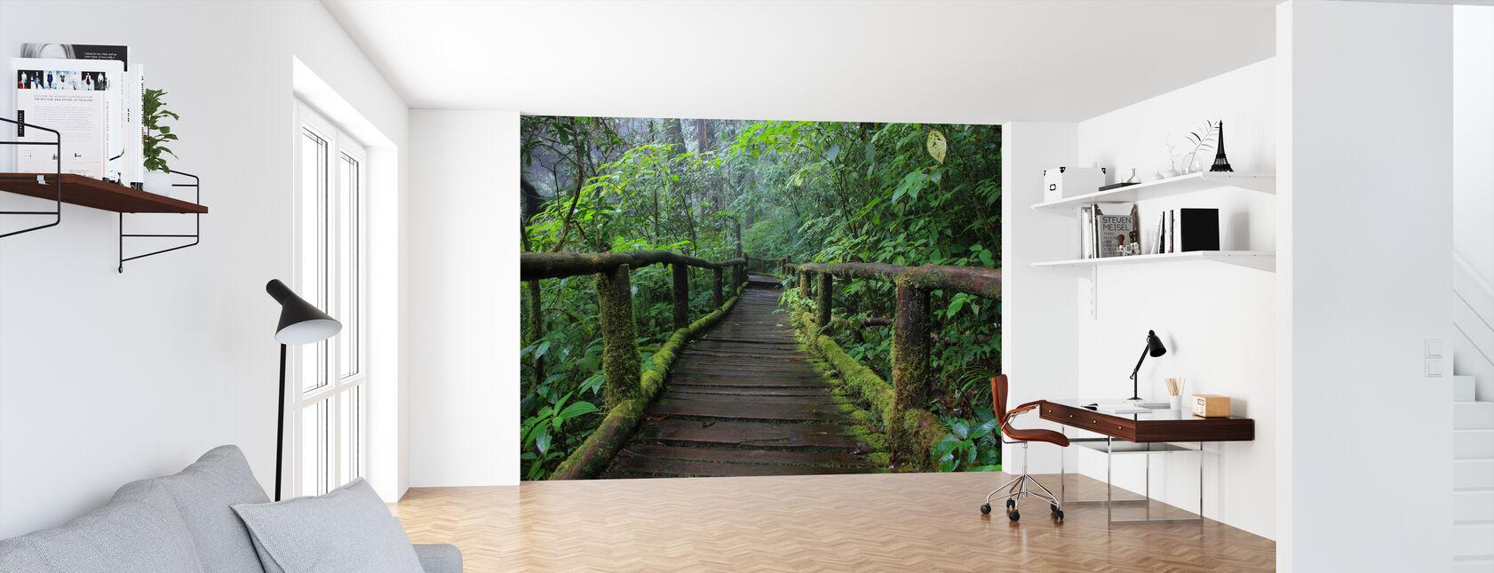 Beautiful Bridge in Thailand - Wallpaper - Office