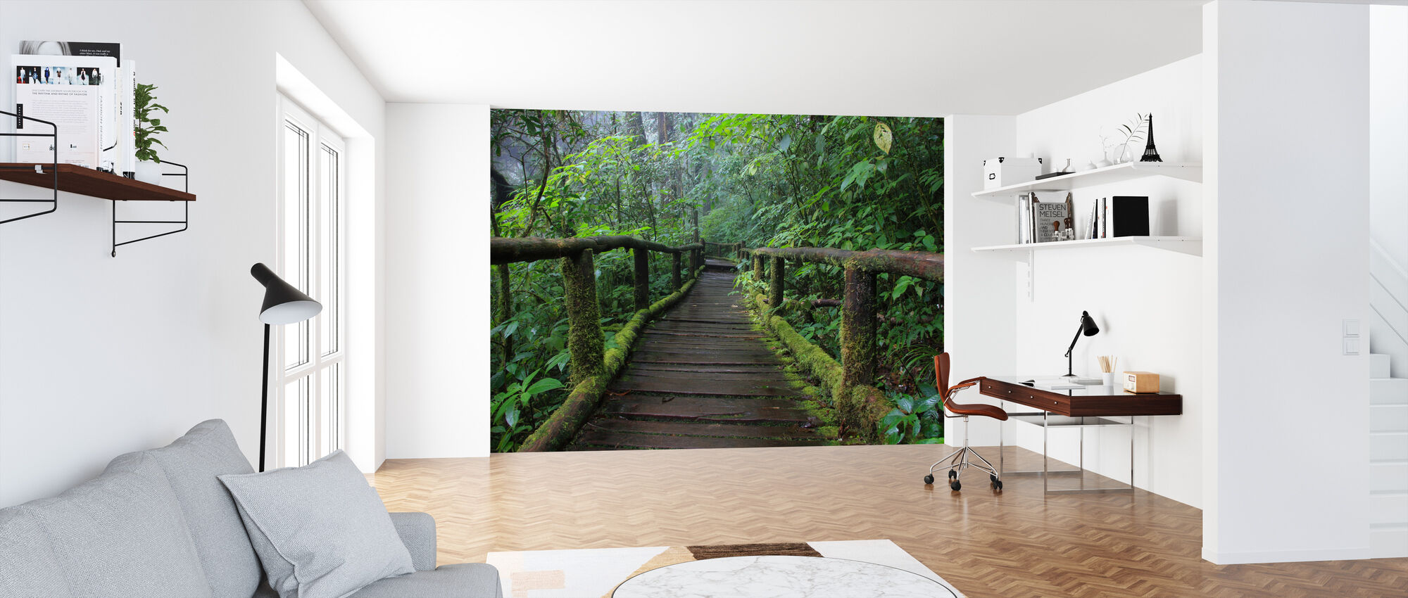 Beautiful Bridge in Thailand - Wallpaper - Office
